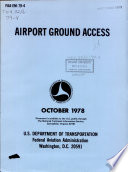Airport ground access Book