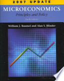 Microeconomics Principles And Policy 2007 Update Book