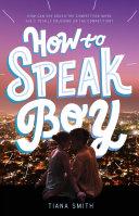 How to Speak Boy Pdf/ePub eBook