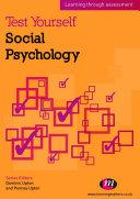 Pdf Test Yourself: Social Psychology Telecharger
