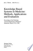 Knowledge Based Systems in Medicine