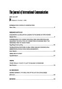 The Journal of International Communication