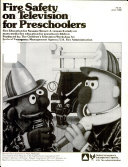 Fire Education for Sesame Street  A Research on Mass Media Fire Education for Preschool Children