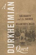 A Durkheimian Quest Pdf/ePub eBook