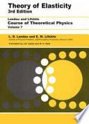 Theory of Elasticity, Volume 7 by L D Landau,E.M. Lifshitz,A. M. Kosevich,L. P. Pitaevskii PDF