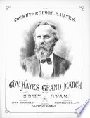Gov  Hayes Grand March Book