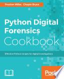 Python Digital Forensics Cookbook Book