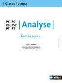 Tout le cours - Analyse - PC PSI PT