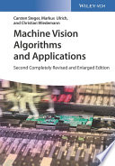 Machine Vision Algorithms and Applications Book