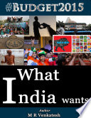 What India Wants By MR Venkatesh