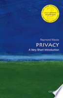 Privacy A Very Short Introduction