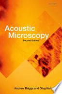 Acoustic Microscopy Book