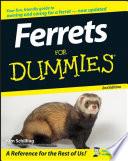 Ferrets For Dummies Book