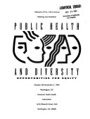 Abstracts     Annual Meeting of the American Public Health Association and Related Organizations Book