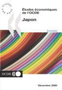 Pdf Études économiques de l'OCDE : Japon 2000 Telecharger
