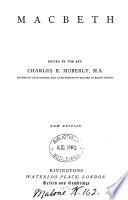 Macbeth  ed  by C E  Moberly