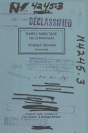 Download Simple Sabotage Field Manual Epub