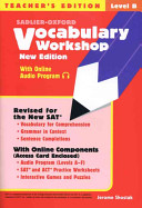 Vocabulary Workshop Level B Teacher s Edition  New Edition