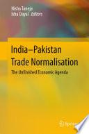 India Pakistan Trade Normalisation