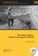 The African Neogene Climate Environments And People
