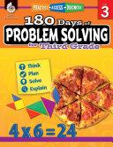 180 Days of Problem Solving for Third Grade