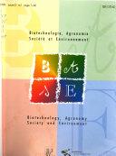 Biotechnologie, agronomie, société et environnement