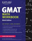 Kaplan GMAT Math Workbook Book