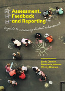Assessment  Feedback and Reporting  1st Edition