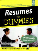 Resumes for Dummies  5th Ed