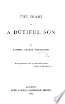 The Diary of a Dutiful Son