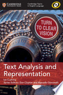 Books - New Text Analysis And Representation | ISBN 9781108401111