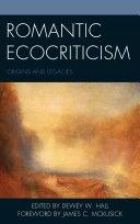Romantic Ecocriticism Book