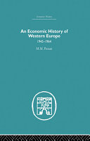 An Economic History of Western Europe 1945 1964