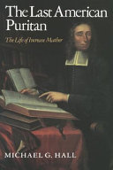 The Last American Puritan