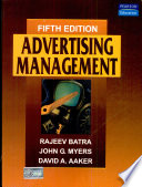 """Advertising Management"" by Batra"