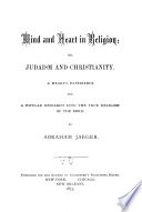 Mind and Heart in Religion