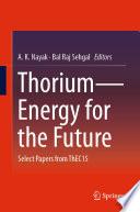Thorium   Energy for the Future