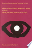 Retinal Pigment Epithelium And Macular Diseases Book PDF