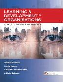 Learning   Development in Organisations