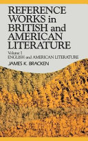 Reference Works In British And American Literature English And American Literature