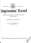 Congressional Record Book