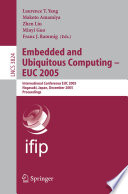 Embedded and Ubiquitous Computing   EUC 2005 Book