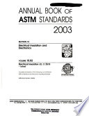 Annual Book of A.S.T.M. Standards