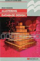 Books - Mastering Database Design | ISBN 9780333763179