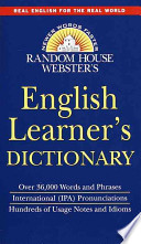 Random House Webster's English Learner's Dictionary