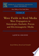 Wave Fields in Real Media