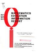 Investigations in Mathematics Education