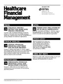 Healthcare Financial Management