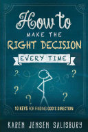 Pdf How to Make the Right Decision Every Time