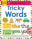 Wipe Clean Workbook Tricky Words
